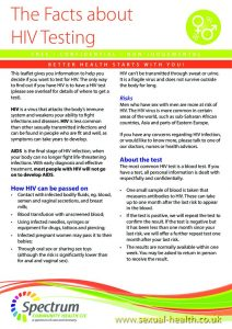 thumbnail of SP016C HIV Testing A5 leaflet Wigan v3 0718 WEB