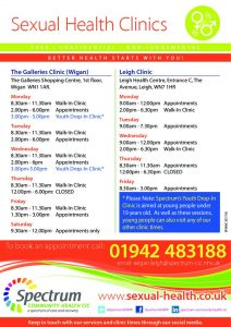 thumbnail of SP006C Sexual Health Clinics and Services A5 flyer WIGAN v1 0718